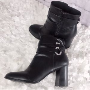 H&M Black Ankle Booties